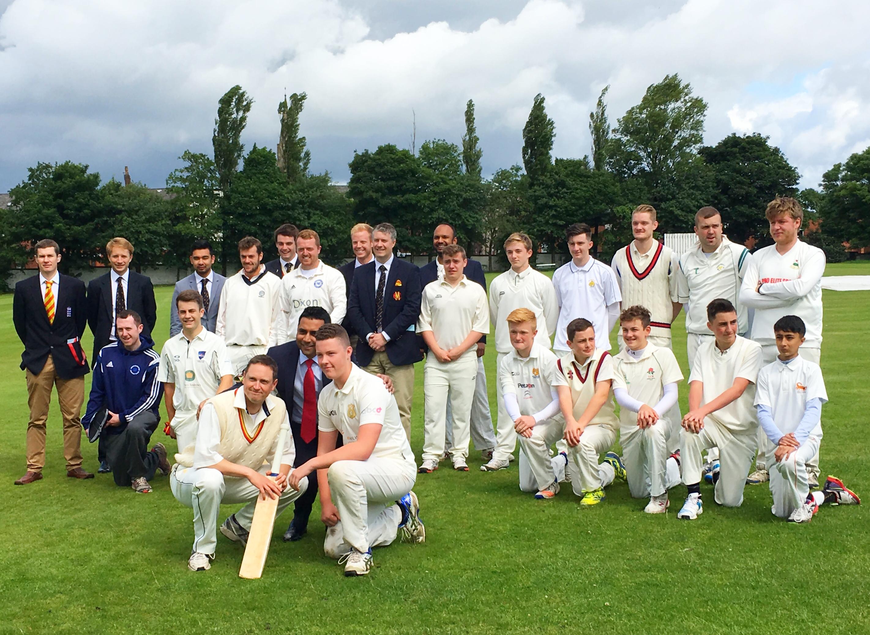 Oldham Hulme Gs V Marylebone Cricket Club North Ainley